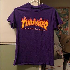 Thrasher shirt (purple)